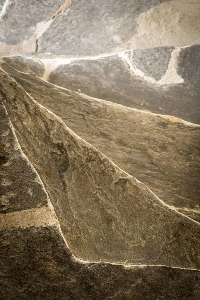 Escaliers du Musée valaisan des Bisses